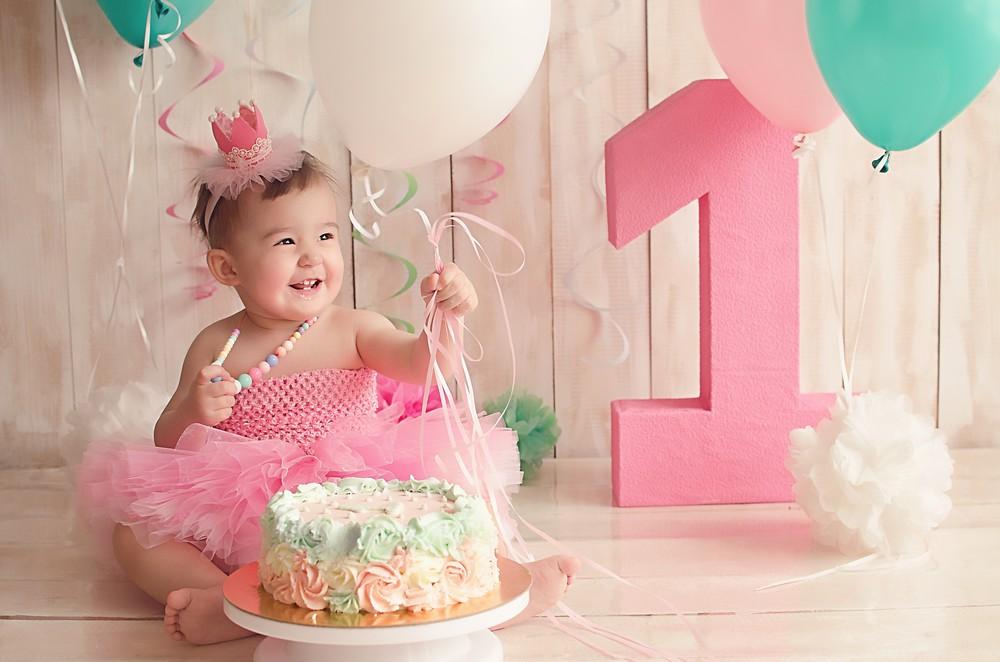 фото торта для фотозоны на 1 годик