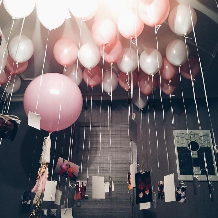 Картинка комната с шариками