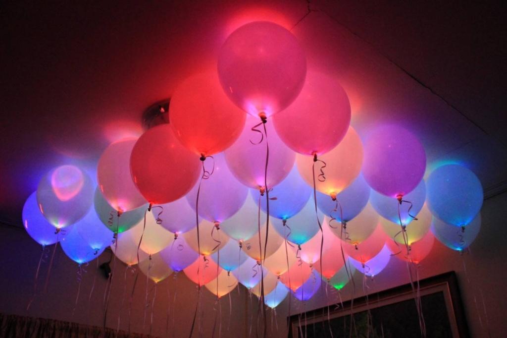 Украшение комнаты светящимися шарами фото.jpg